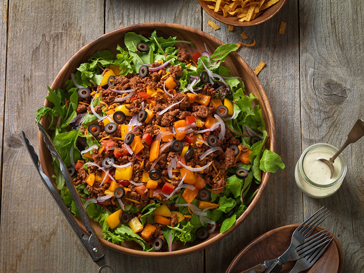 confetti-beef-taco-salad