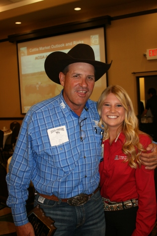 I have Clay Parsons from Marana Stockyards to thank for hiring me and helping develop my cattle background.