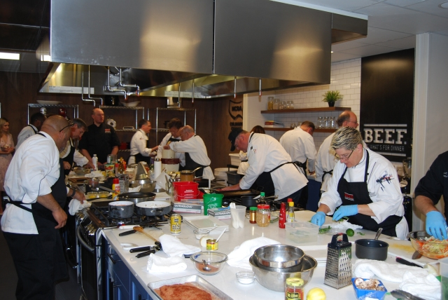 chefs in Culinary Center