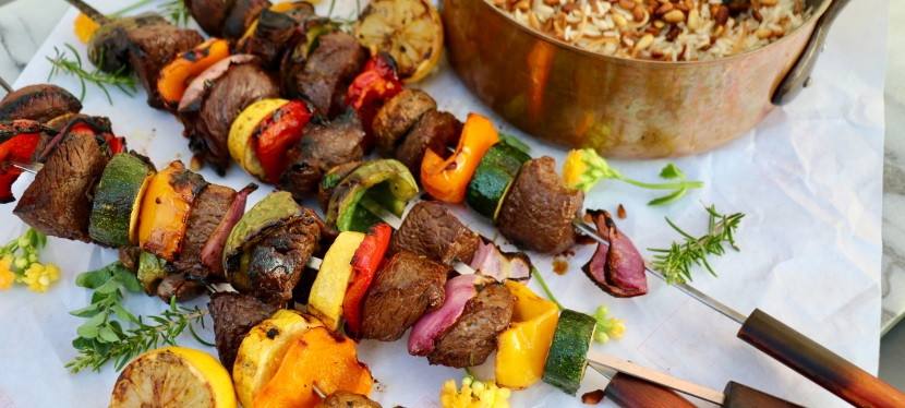 Brooke Appetit: Beef Shish Kabobs with LebaneseRice