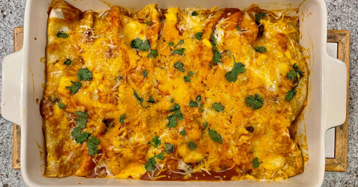 Beef Enchiladas with Kailee Zimmerman